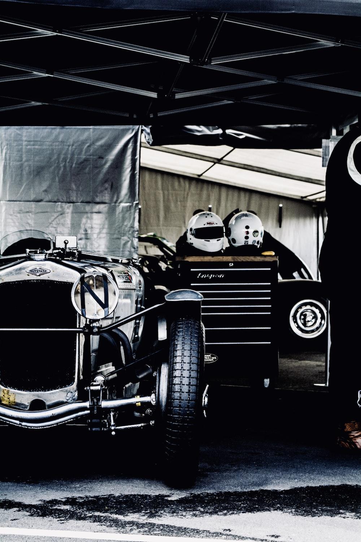 vintage chrome vehicle