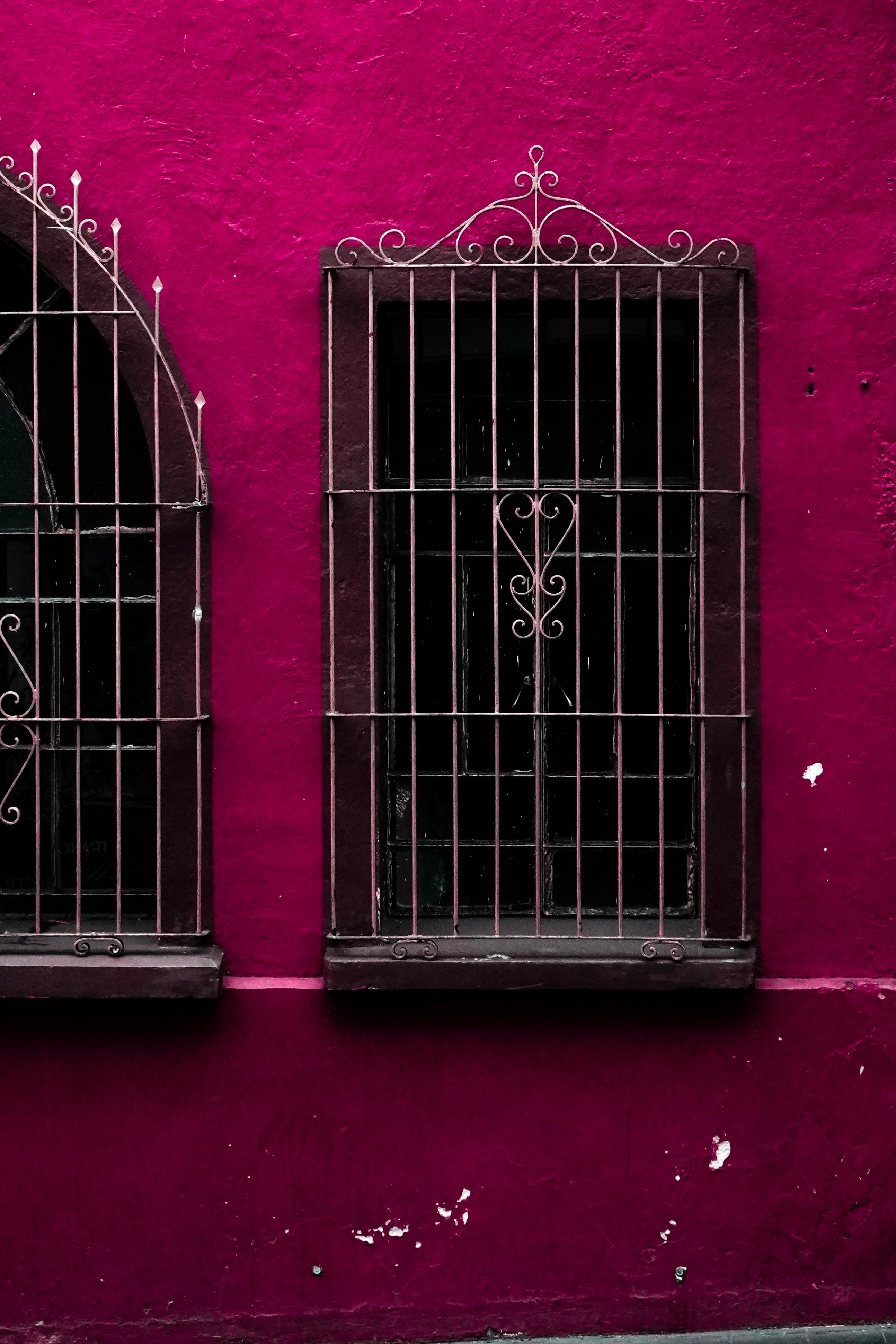 colorful antique street details