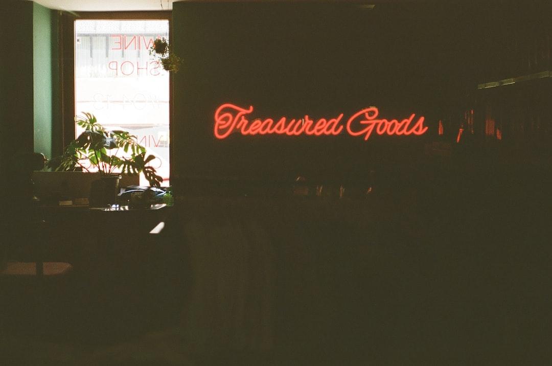 Treasured Goods - unsplash