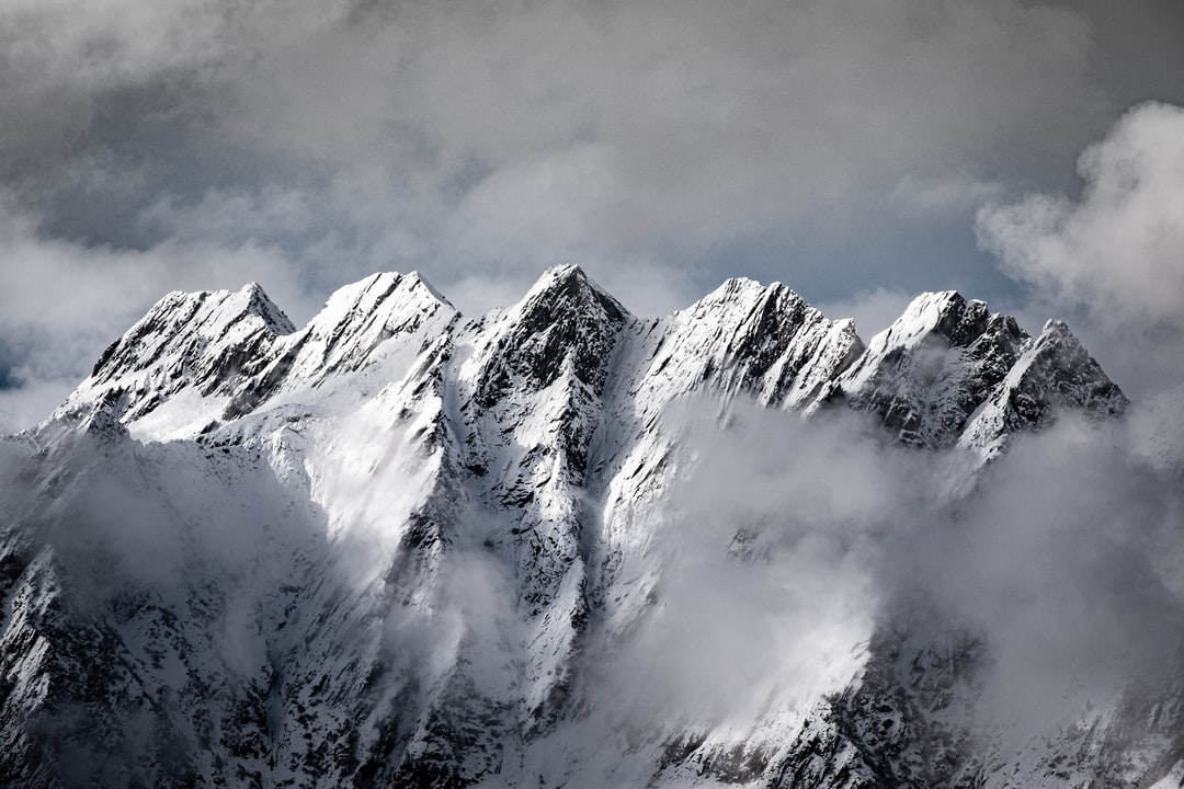 Snow Covered Mountains - unsplash
