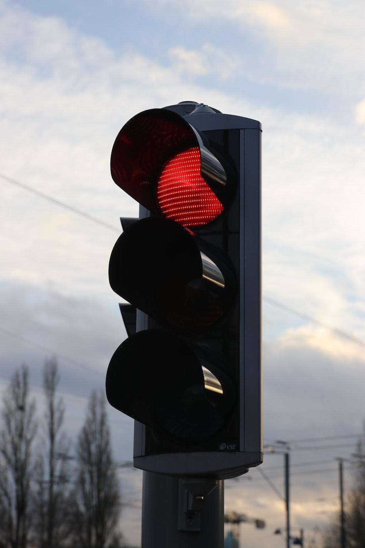 red traffice light