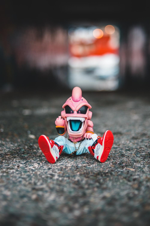 Dragonball Z villain character toy