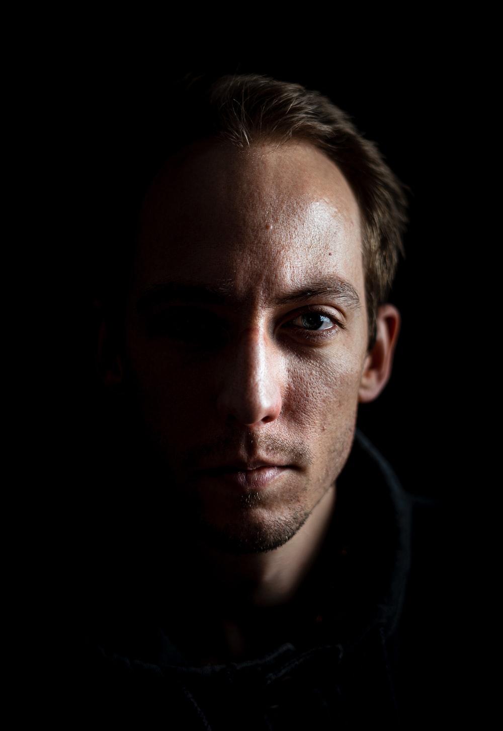 portrait photograph of man