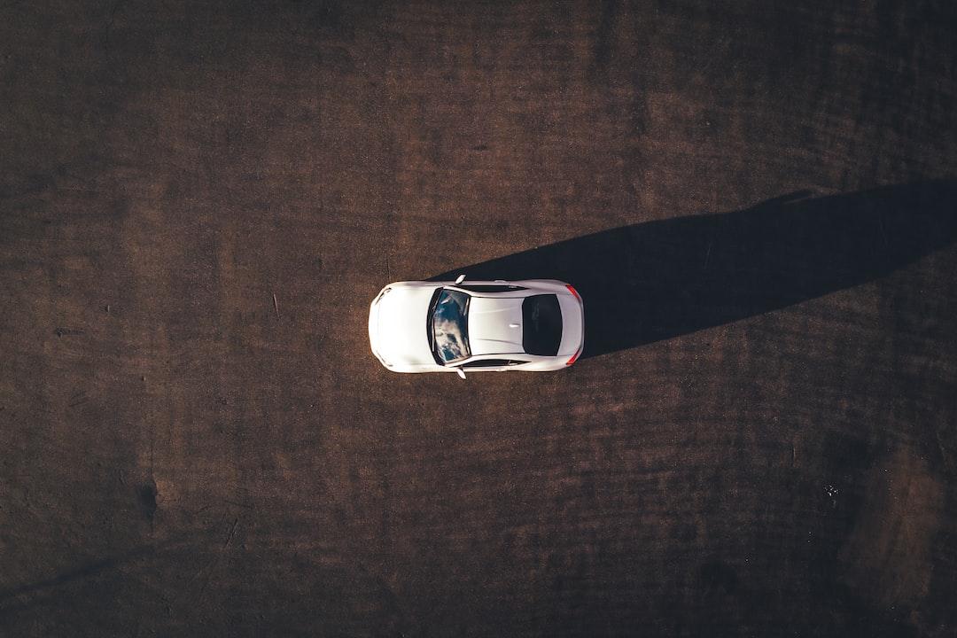 Aerial Photograph of White Vehicle - unsplash