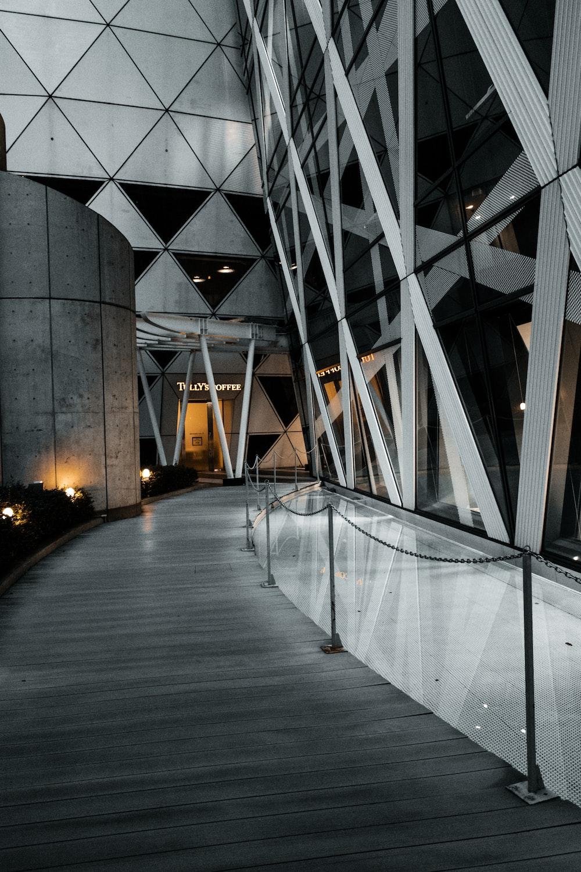 empty walkway