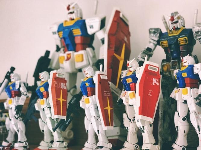 Gundam Injection Molding Image