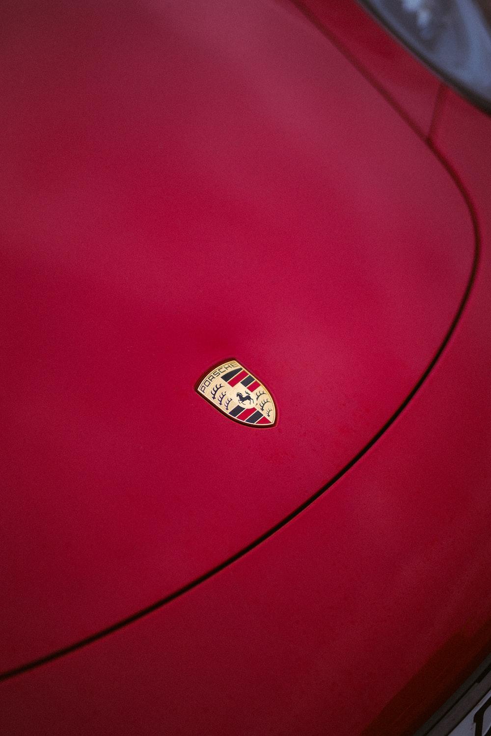 red Porsche Carrera