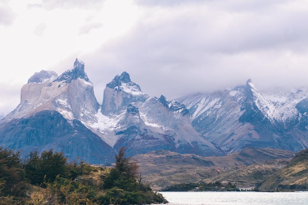 Cordillera del Paine mountain in Chile