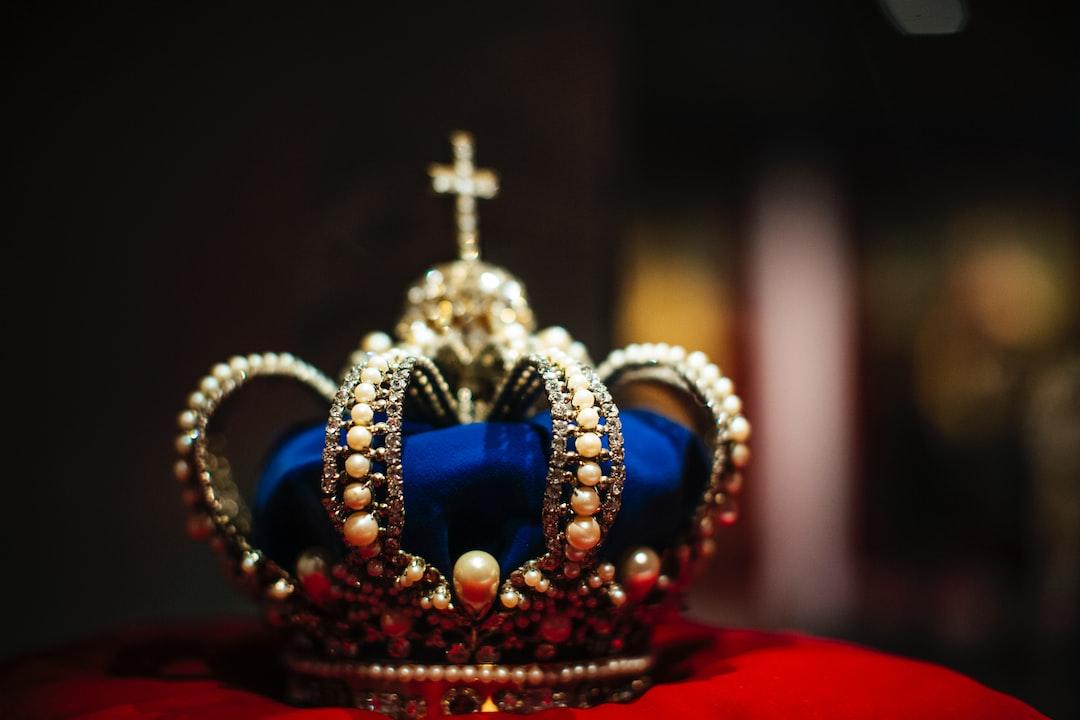 House of Bavarian Histroy - Museum (Haus der Bayerischen Geschichte - Museum). Crown of King Ludwig II. of Bavaria (König Ludwig II. von Bayern)