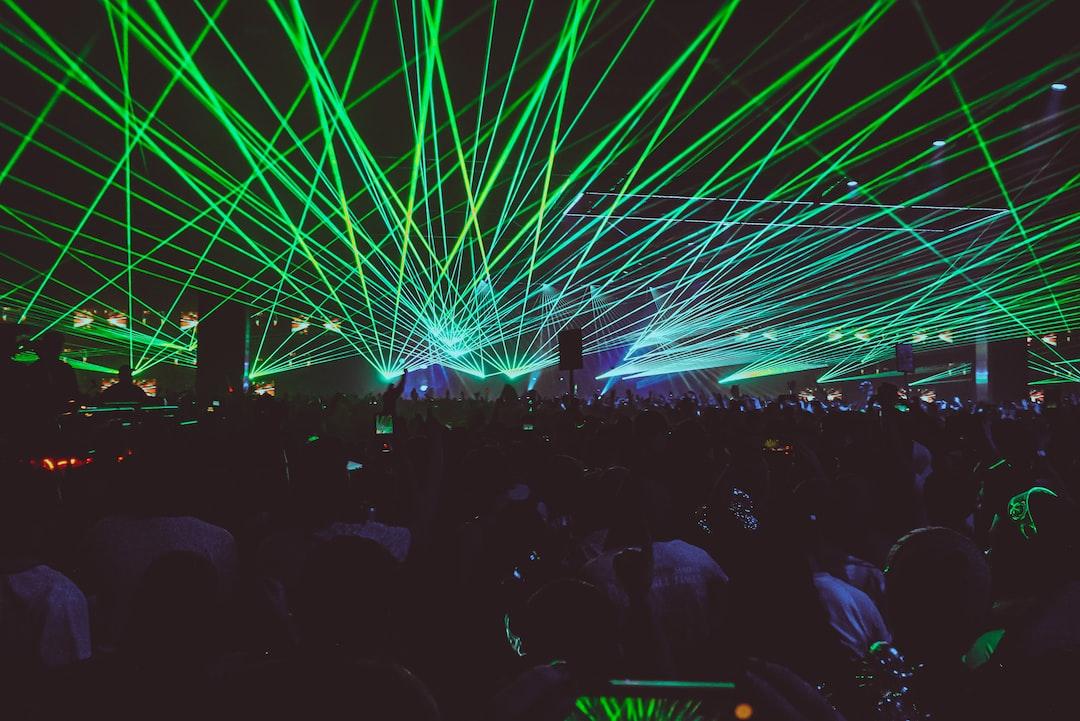 Bassnectar Lasers at Hijinx Music Festival