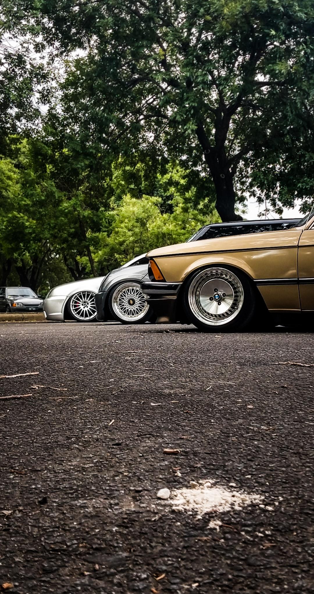 BMW 3-Series (E21), Mini Cooper S (R53) and Volkswagen Bora/Jetta (Mk1/Mk4) at Turrificado's car meeting in Parque Sarmiento (Taken on January 12, in Parque Sarmiento, Ciudad de Buenos Aires, Argentina).