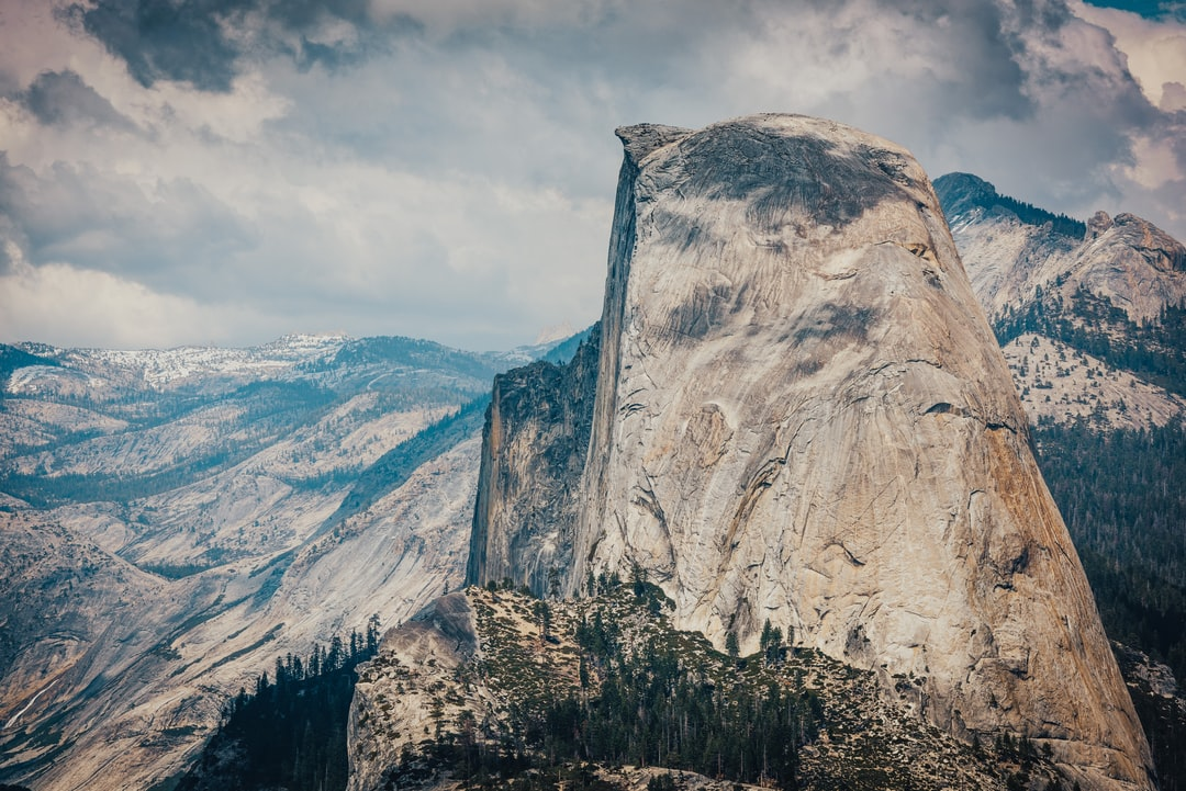 Half Dome In Yosemite National Park. - unsplash