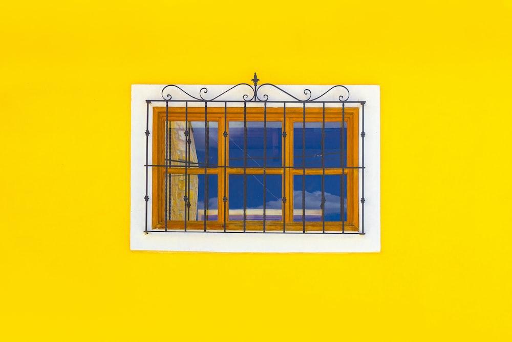 closed glass window
