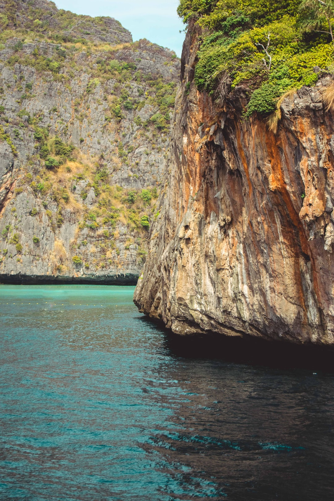 Cliff edge close to James Bond Island