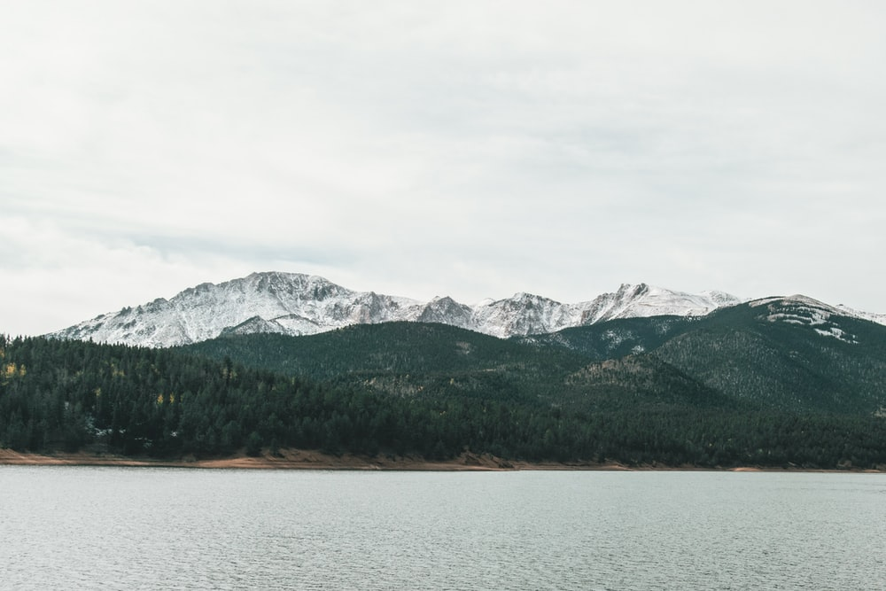lake with hills on side