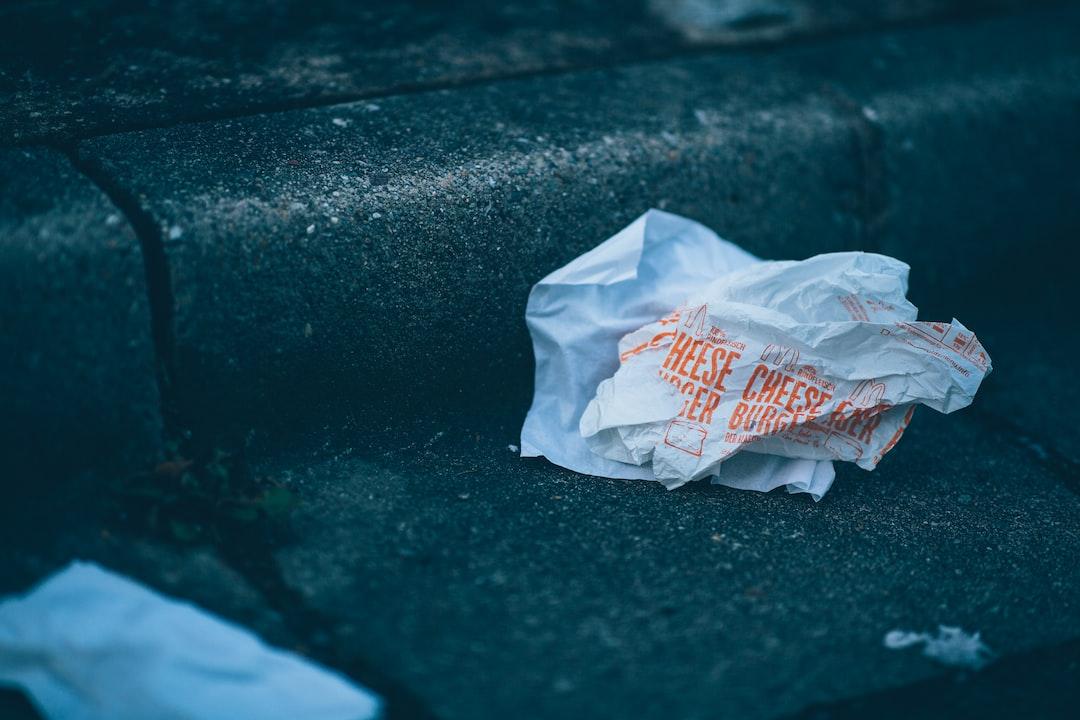 Mc Donalds Cheeseburger Pollution of the Environment - unsplash