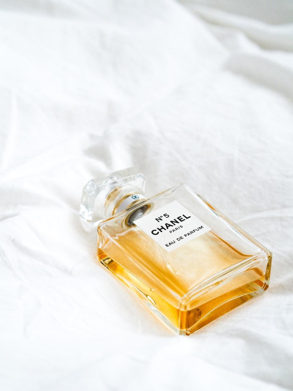 No 5 Chanel fragrance bottle