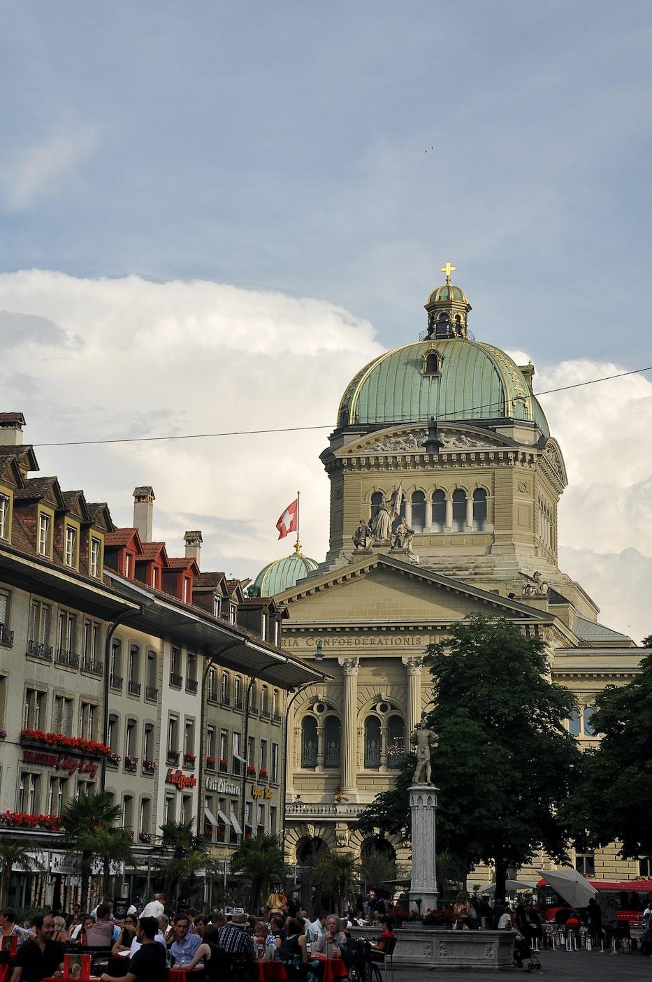 A building in Bern, Switzerland