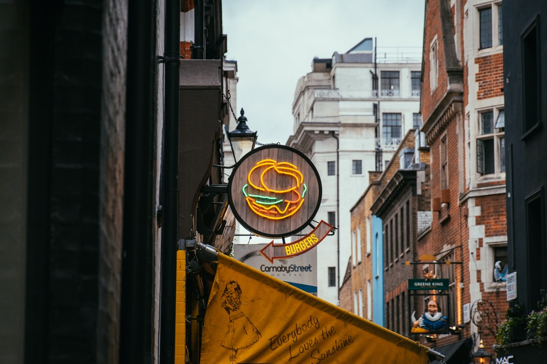 Restaurant Signage Beside Wall - unsplash