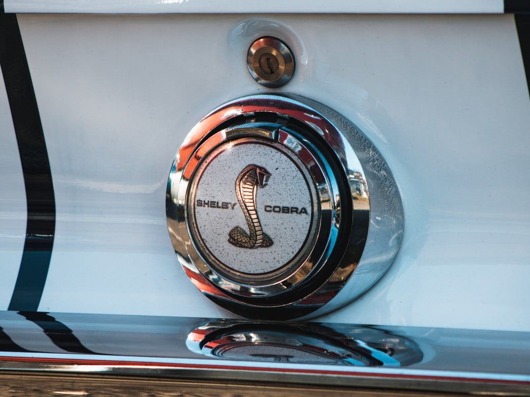 1966 Shelby GT350 Mustang Logo