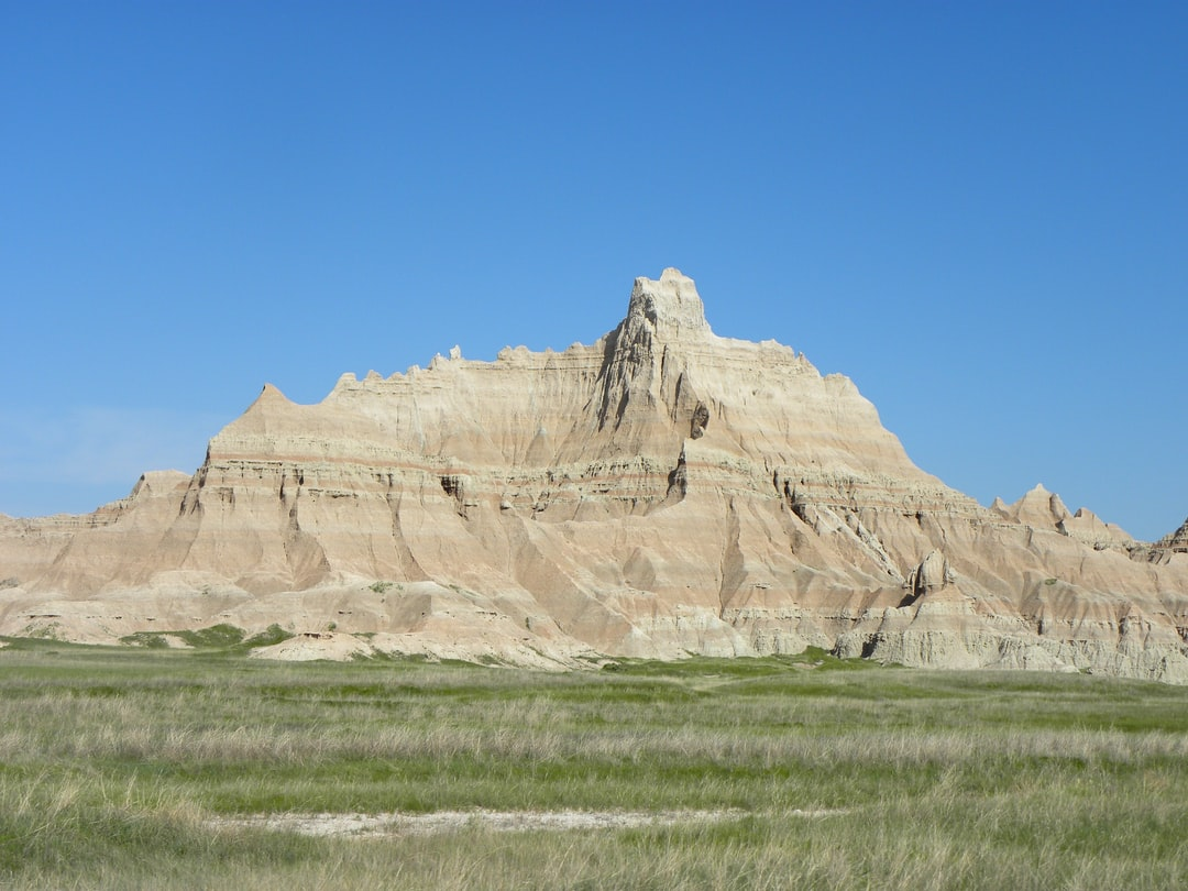 A scene in the Badlands near the aptly named Interior in the SW area of South Dakota.