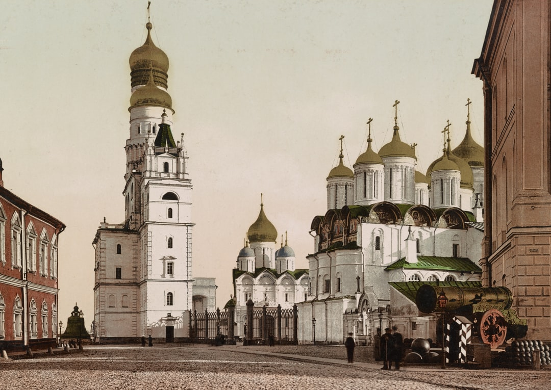 Moscow. the Iwan Weliky Tower and the Czar Des Canons. Created / Published  1890-1906. Https://www.loc.gov/resource/ppmsca.52737/   - unsplash