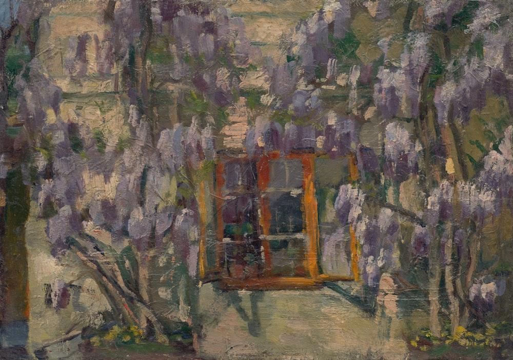 painting of window