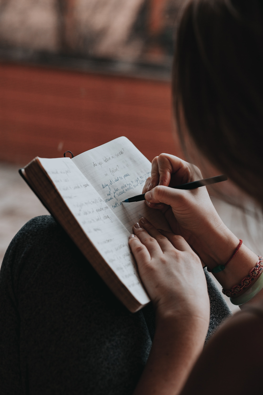 She writes poems.