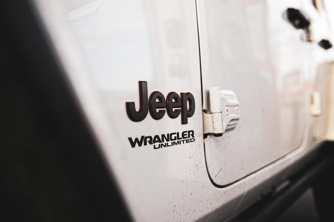 White Jeep Wrangler - unsplash