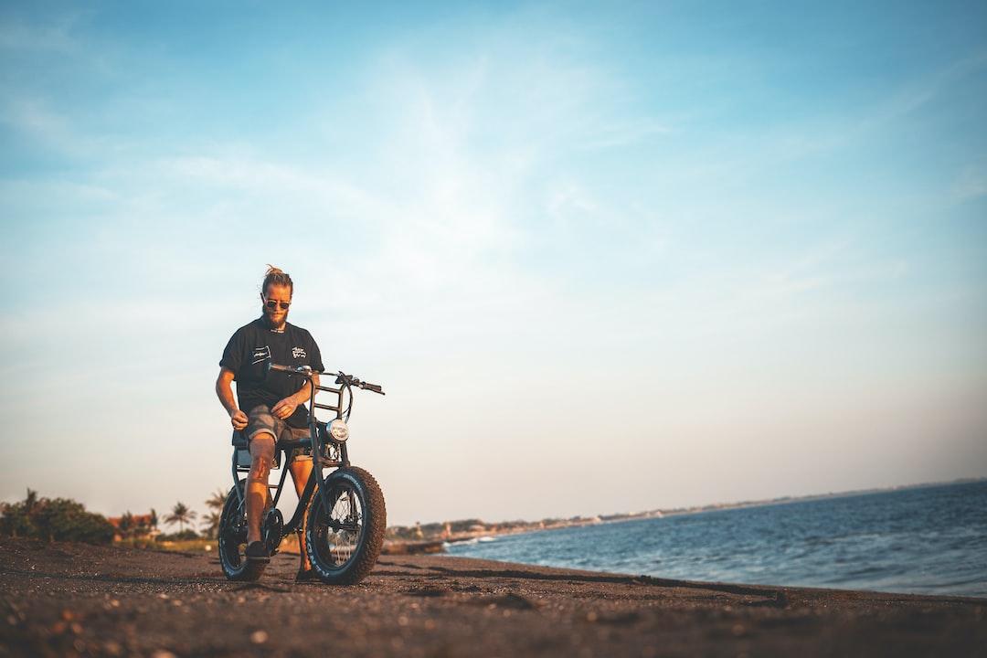 Man Riding Bike - unsplash