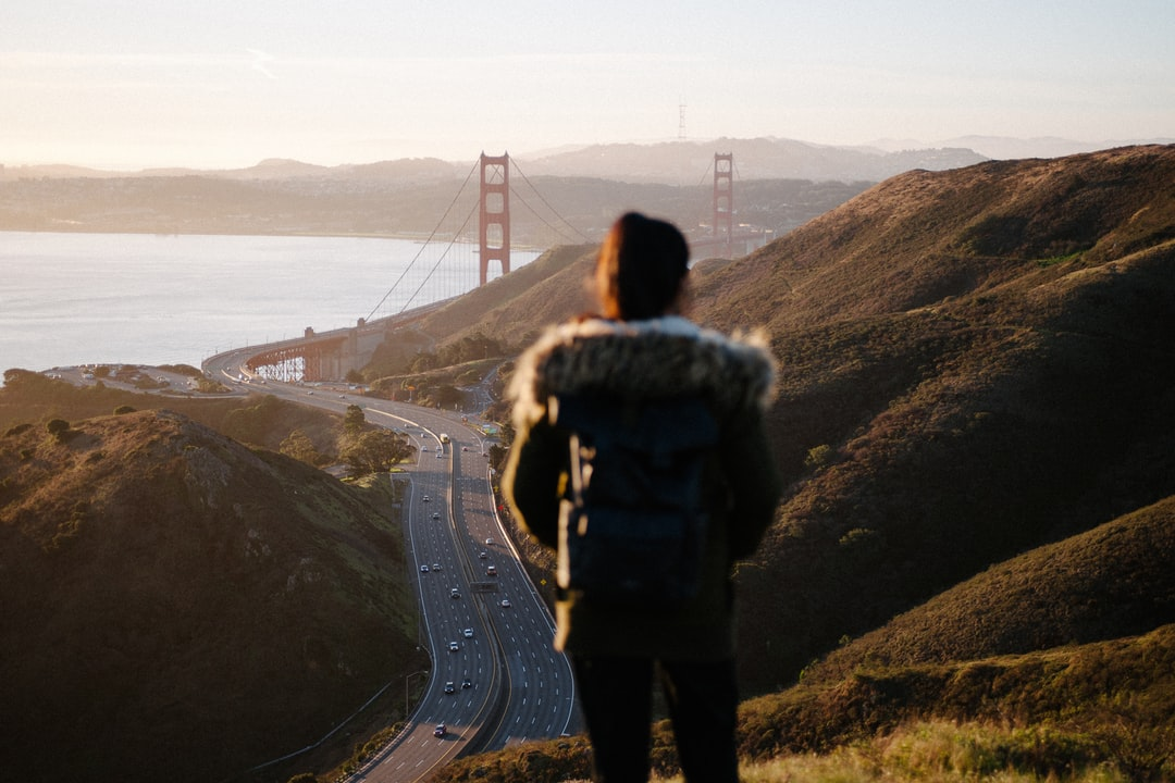 Hiking Near the Golden Gate Bridge. - unsplash