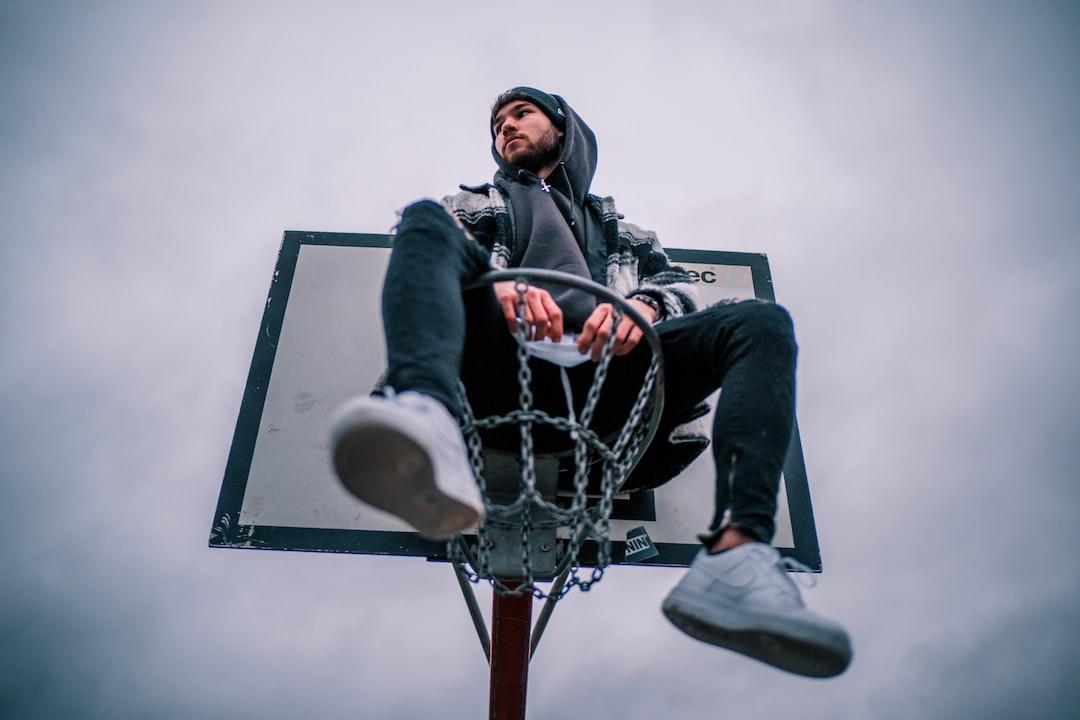 boy on basket