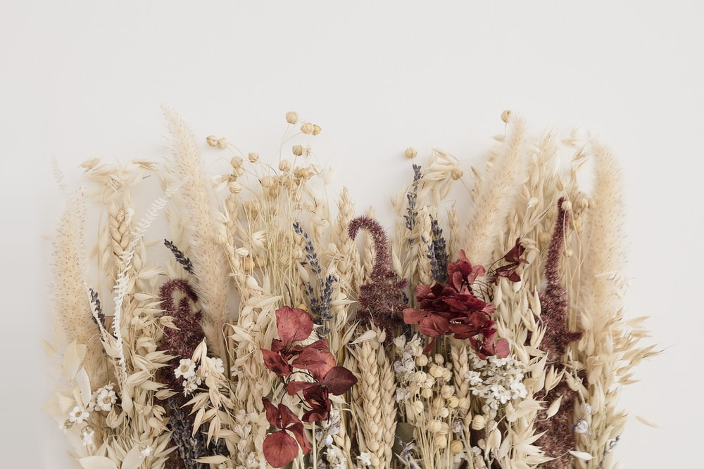 Bring comfort inside with a collection of dried flowers. They're easier to arrange than fresh blooms and linger much longer.