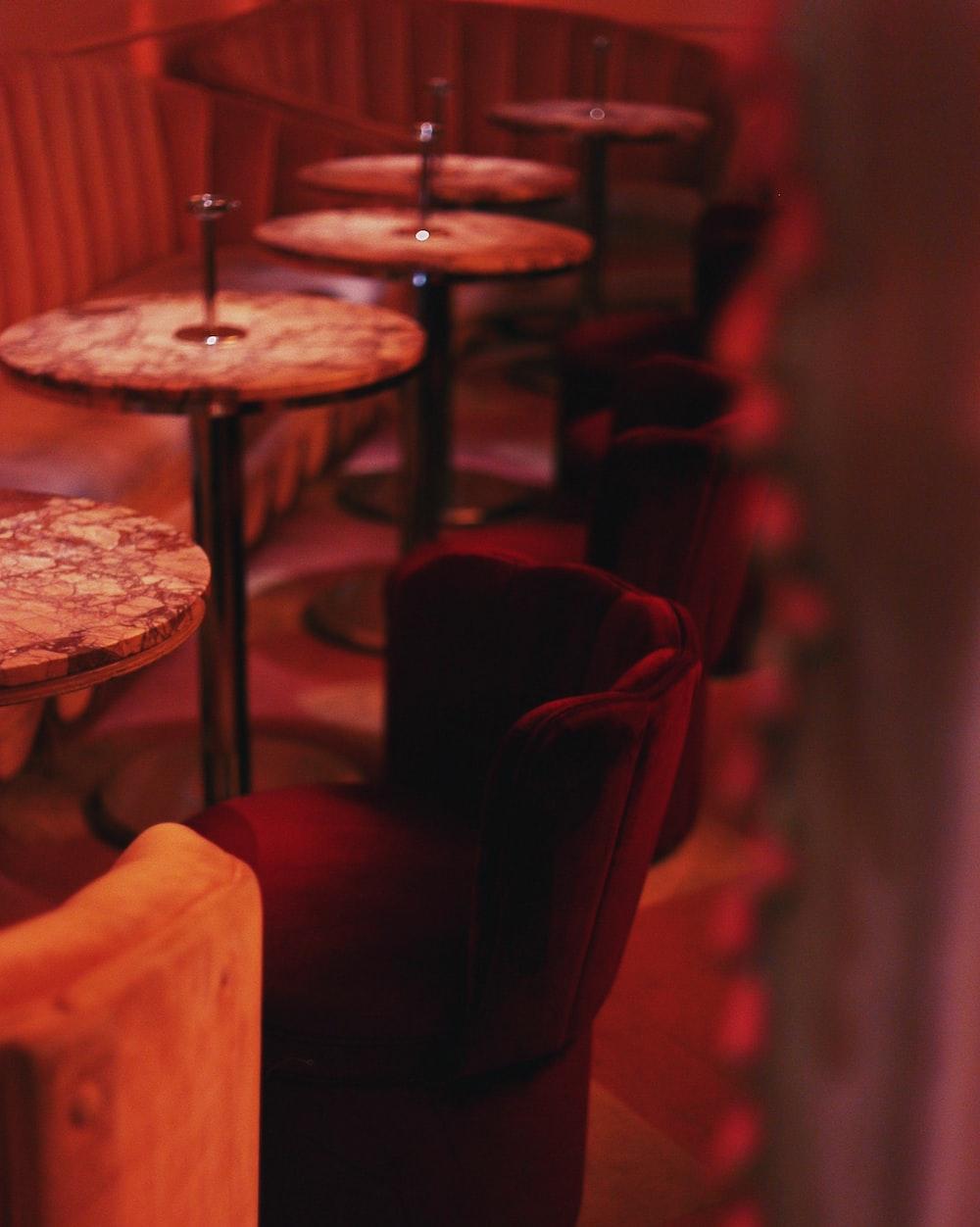 empty indoor eatery