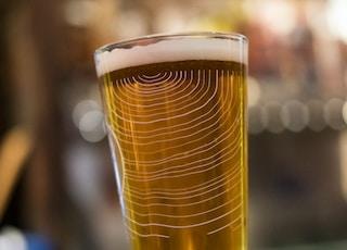 full drinking glass