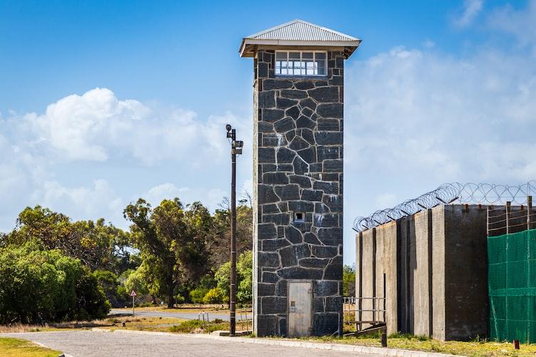 Entrance to Robben Island Prison