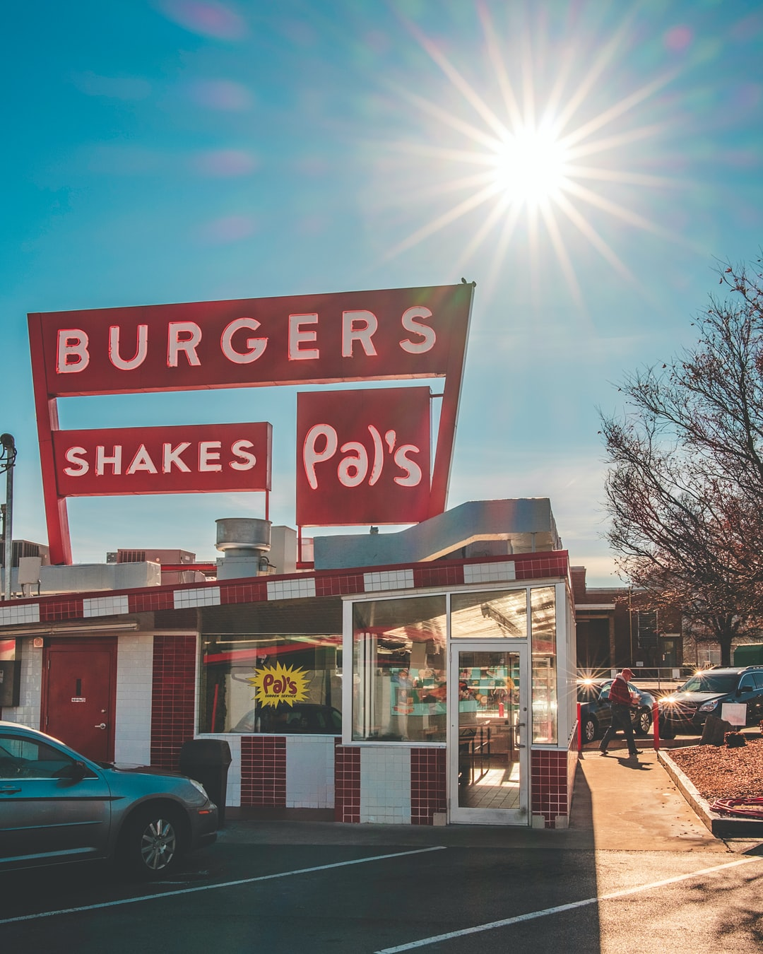 Pal's Sudden Service, the original location. Located in downtown Kingsport. Make sure you ask for a peanut butter shake!