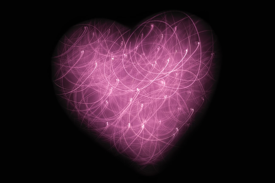 Pink Heart with Lights