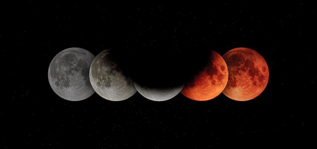 Earth's shadow on the Moon