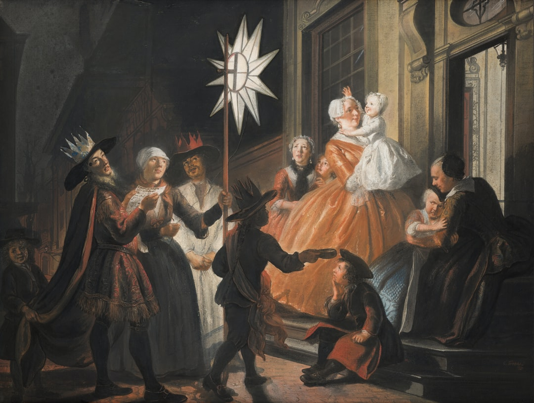 Singing Round the Star on Twelfth Night. Creator: Cornelis Troost. Date: unknown. Institution: Mauritshuis. Provider: Digitale Collectie. Providing Country: Netherlands. PD for Public Domain Mark