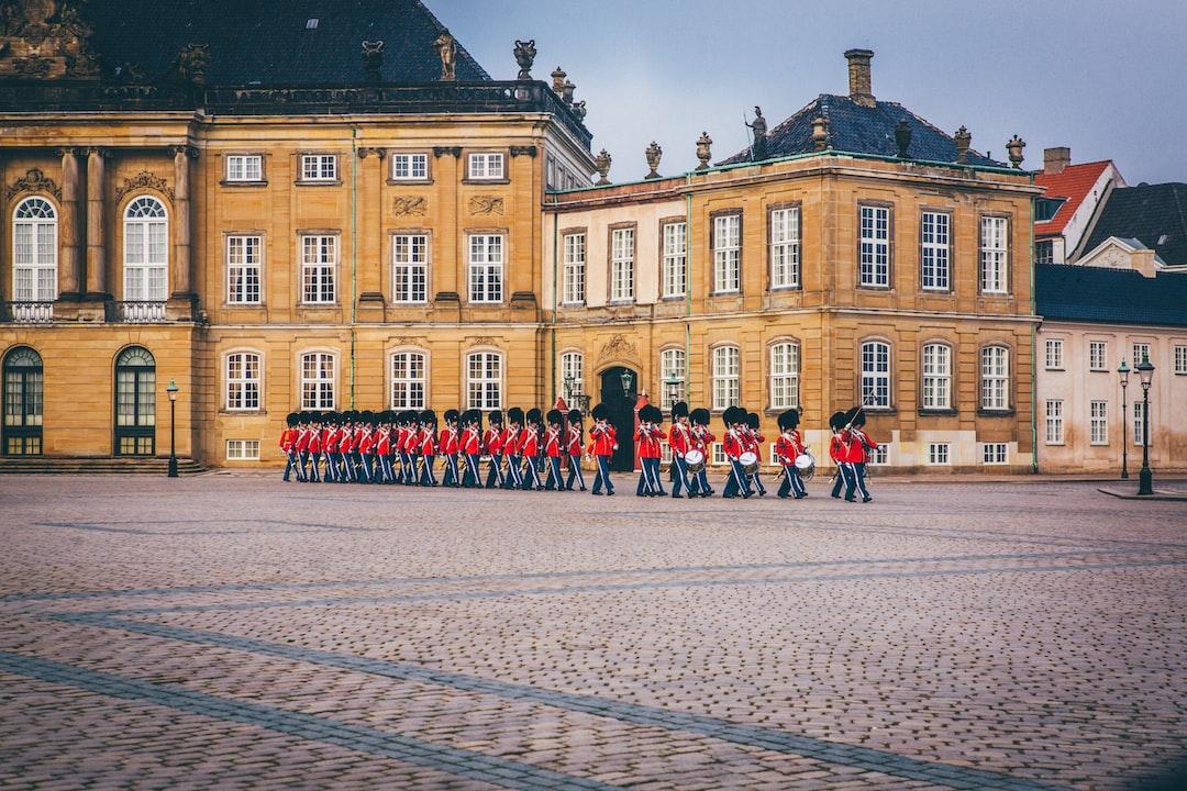 Soldier Parade At Amalienborg - unsplash