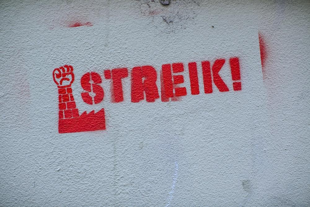 Streik illustration