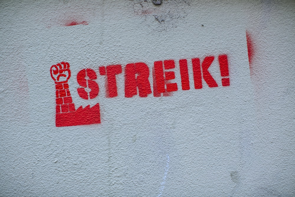 Streik illustration
