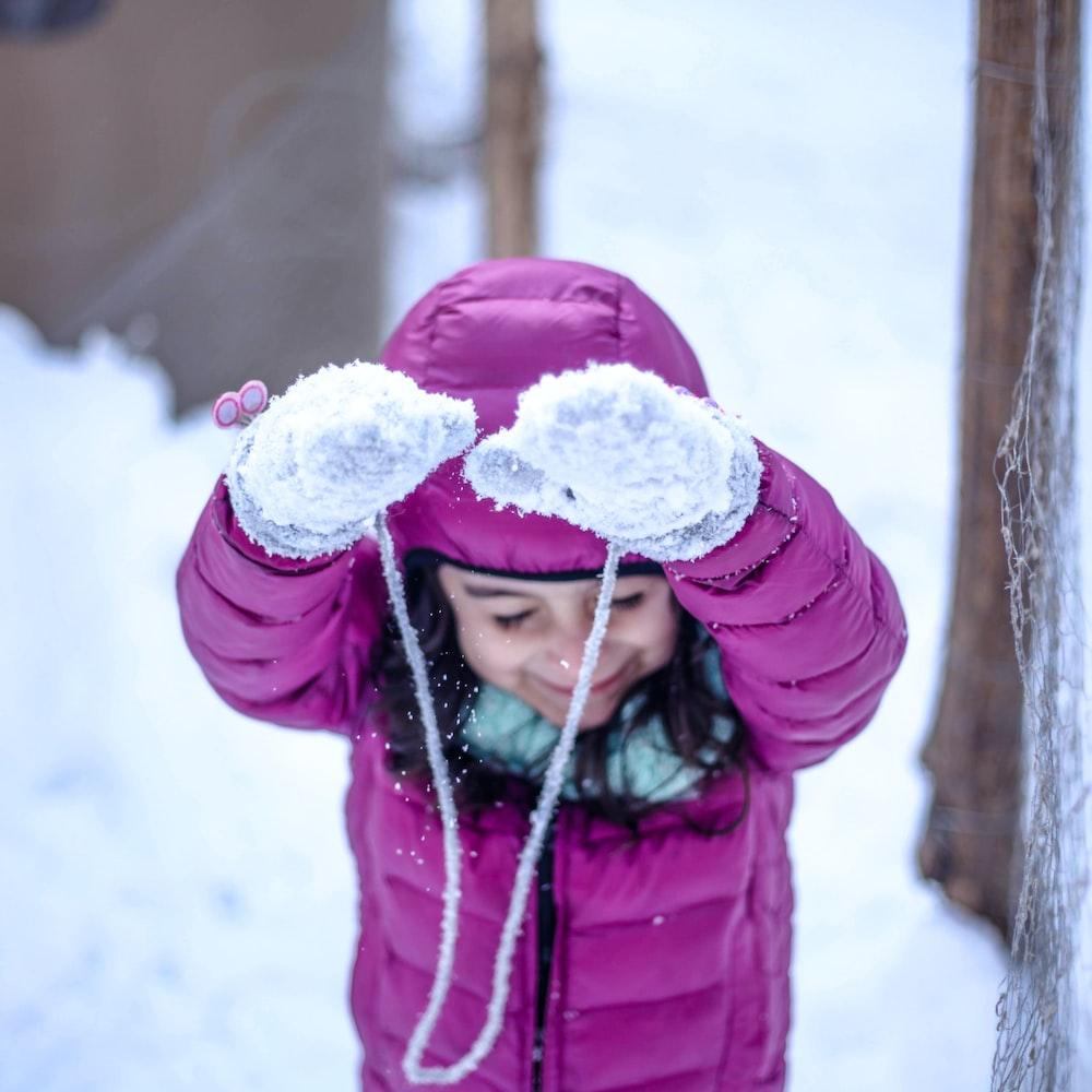 girl wearing zip-up hoodie