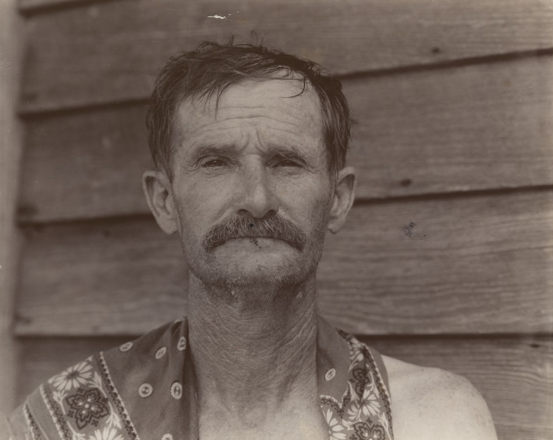 Bud Fields, Cotton Sharecropper. Hale County, Alabama. 1935 - unsplash