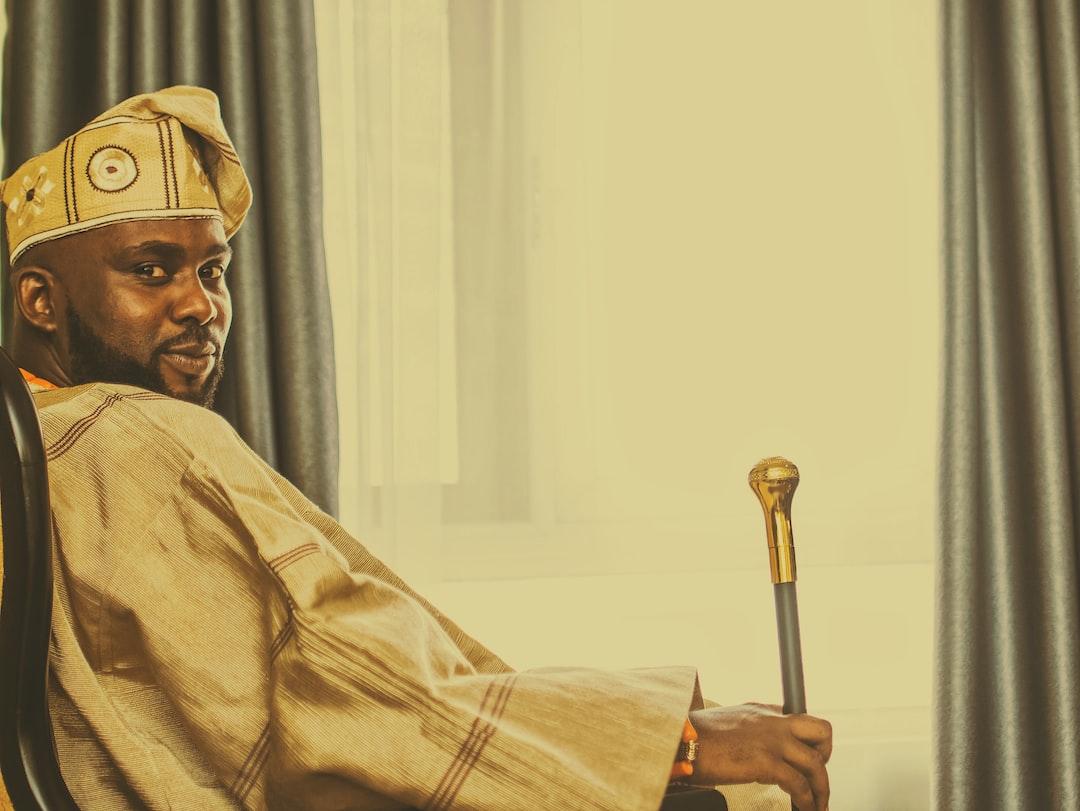 A Yoruba chief