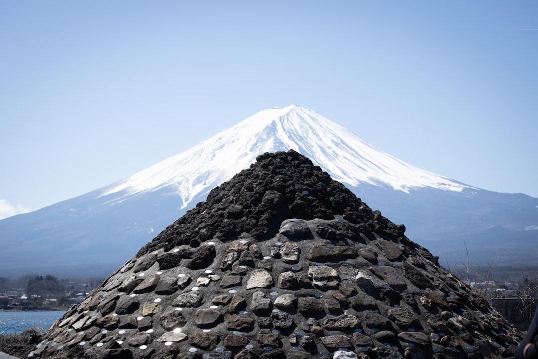 Fuji, man made