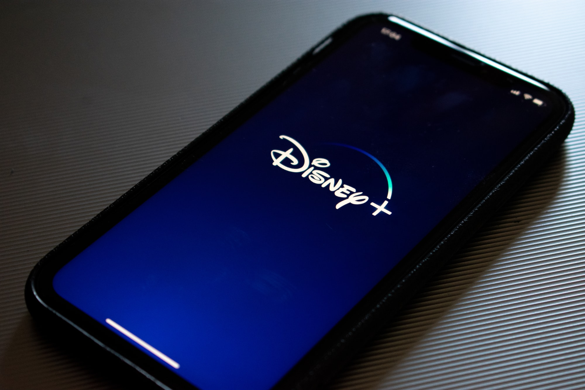 iPhone displaying the Disney plus app