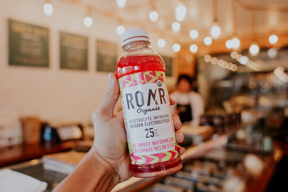 Ronr Organic bottle