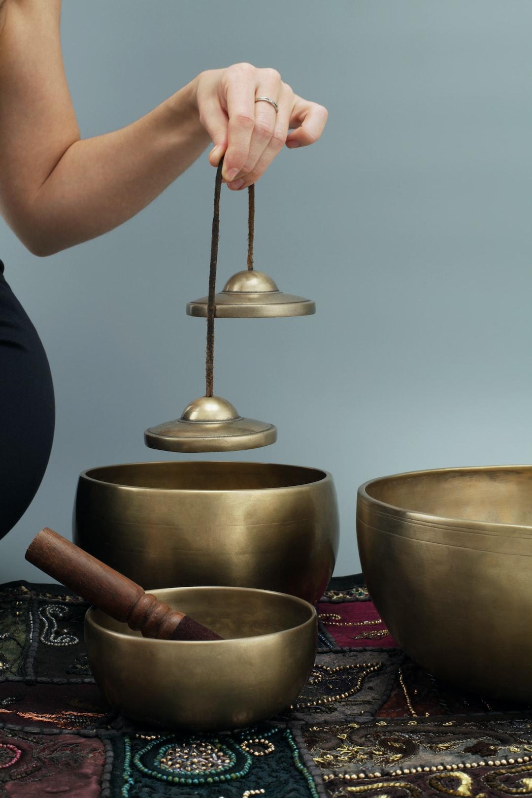 Tibetan Tingsha & singing bowls. Ancient Physical, Mental and Spiritual Practice